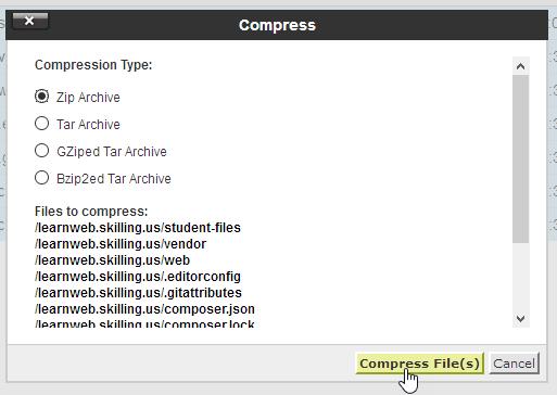 Compression type