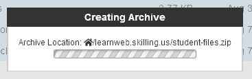 cPanel chooses the file name