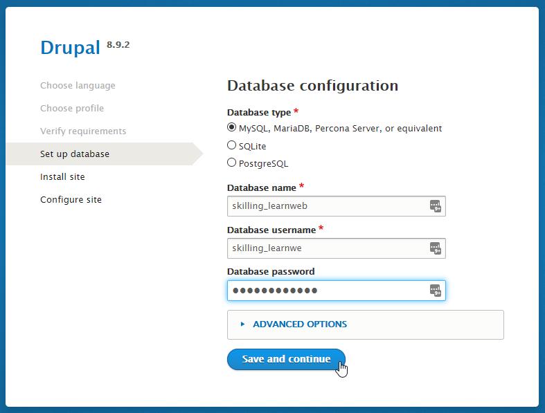 Choosing a database