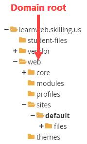 Folder for settings.php
